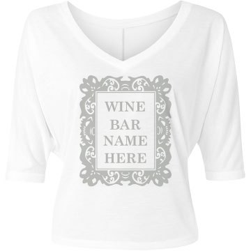 Wine Bar Frame
