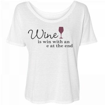 Wine Is Winning