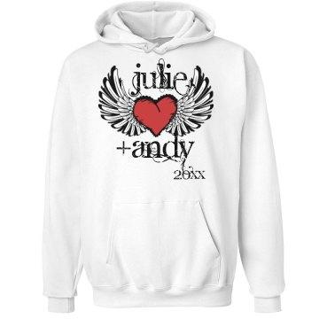 Winged Heart Hoodie