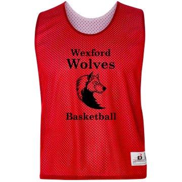 Wolves Basketball Pinnie