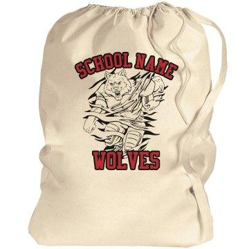 Wolves School Mascot