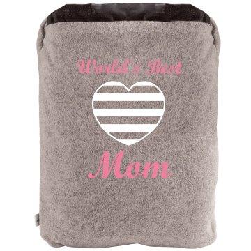 World's Best Mom Blanket