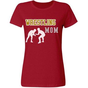 Wrestling Rhinestone Mom