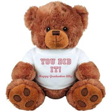 You Did It Grad Bear