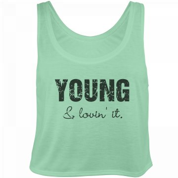 Young Distressed Tank