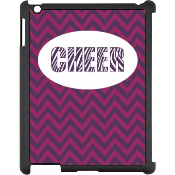 Zebra Cheer iPad Case