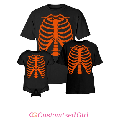 Youth Rib Cage Halloween