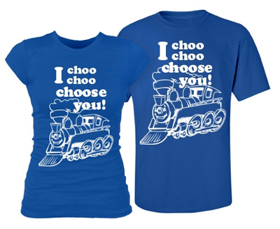 Matching I Choose You Tee