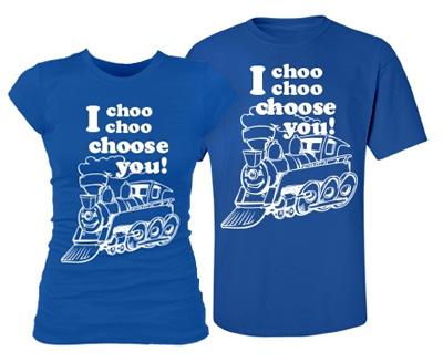 Matching I Choose You Tee