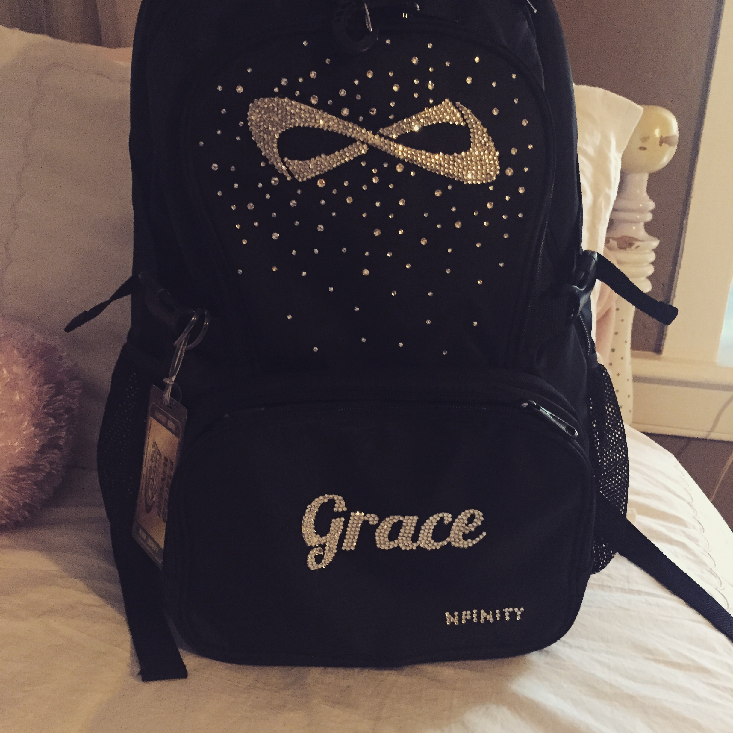 nfinity cheer backpack school and all star cheer gear