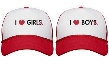 I Heart Girl Hat