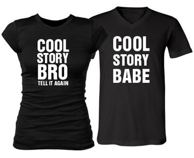 Girl Cool Story Bro