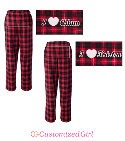 I Heart Pajama Girl