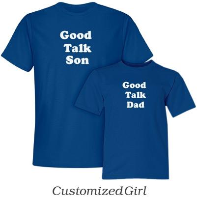 Good Talk Son - Matching