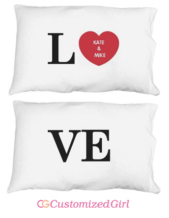 LOVE Pillow Cases