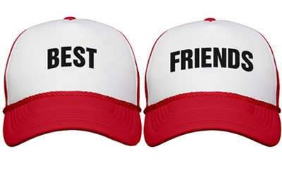 Best Friends Hat -Best