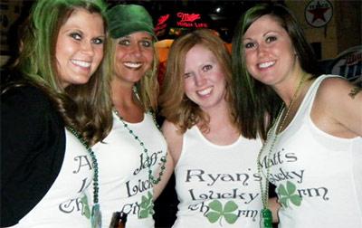 Lucky Charm Clover St Patricks