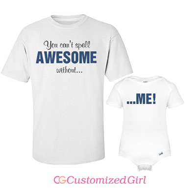 Dad Duo Awesome Tee