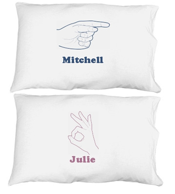Her Hand Pillowcase