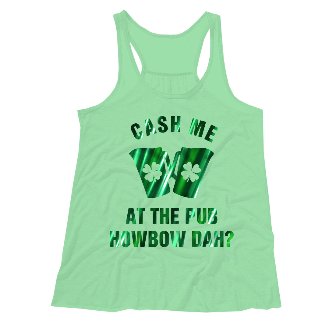 Metallic St. Patrick's Day Shirts
