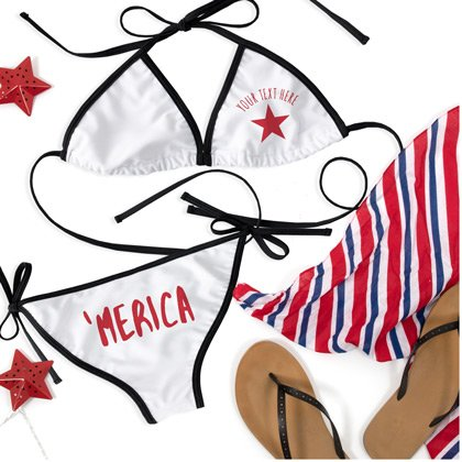 4th Of July USA Bikini