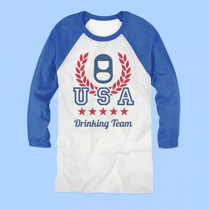 4th Of July USA Drinking Team Shirt