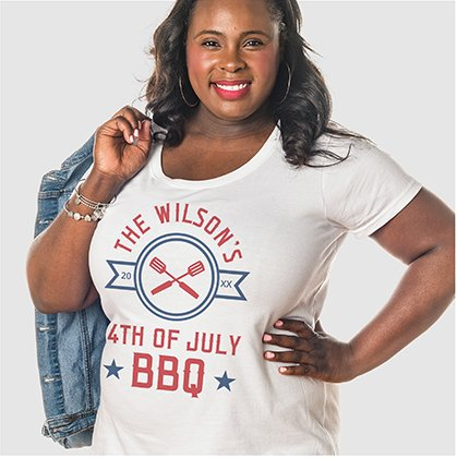 4th Of July USA Family Shirt