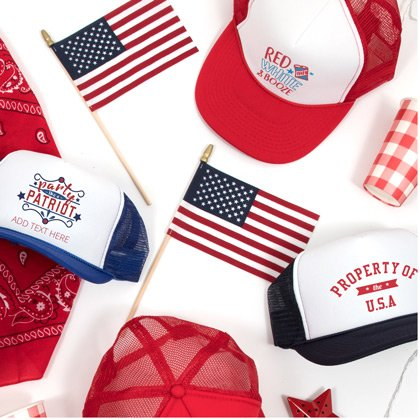 4th Of July USA Trucker Hat