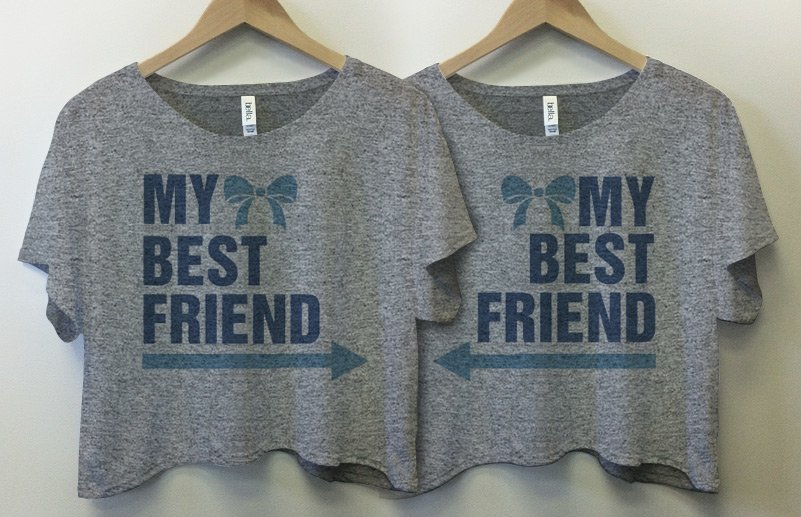 Best Friends Arrows Pointing Shirtsand Tanks