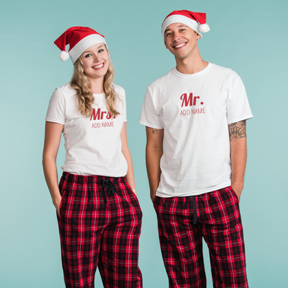 Custom Christmas Pajamas For The Whole Family