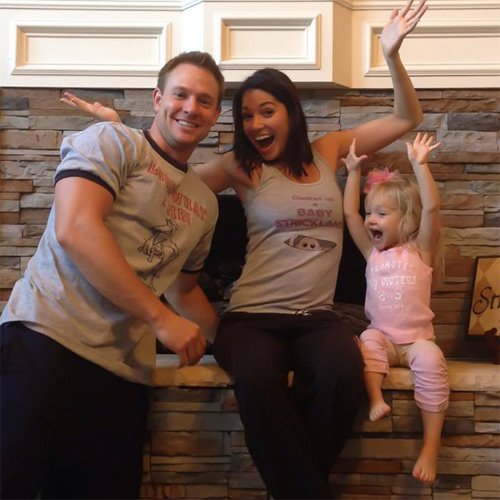 Melissa Rycroft Custom Baby Announcement Shirt