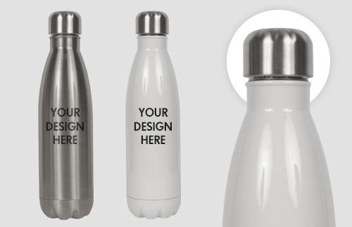 Custom Coke Shaped Water Bottle