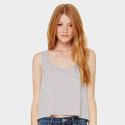 812a7f31e2c63 Custom Flowy Crop Top Tank