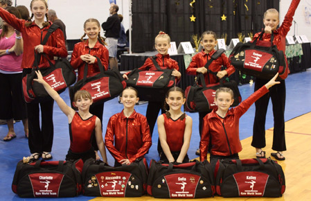 Custom Dance Bags & Gymnast Bags