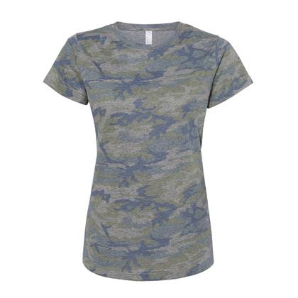 Custom Ladies Camo Shirt