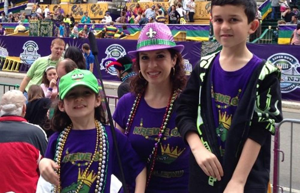 Custom Mardi Gras Shirts Family