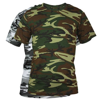 Custom Mens Camo Shirt