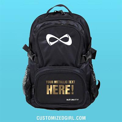 Custom Metallic Nfinity Backpack