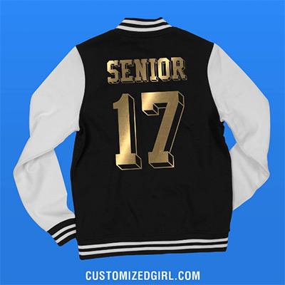 Custom Metallic Varsity Jacket