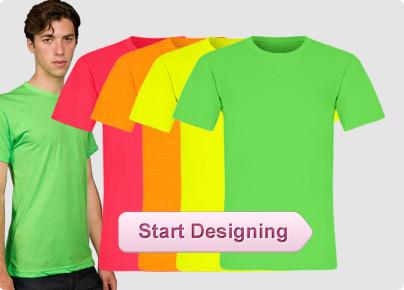 Custom Neon Shirts, Custom Neon Tank Tops, Personalized ...