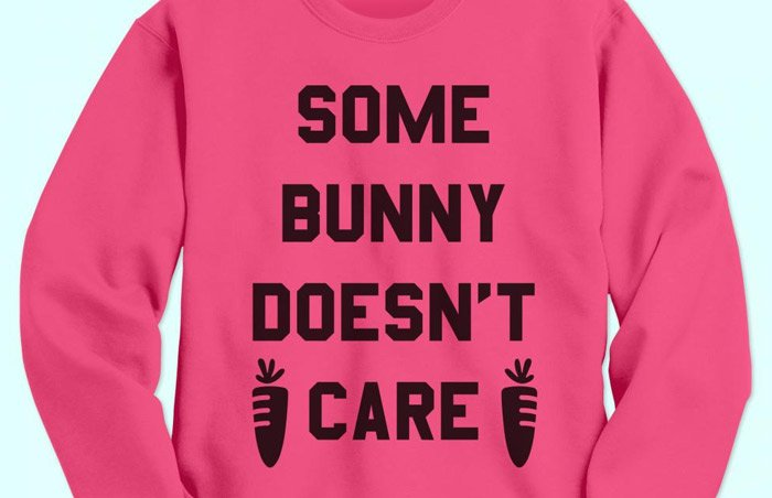 Custom Neon Pink Sweatshirt