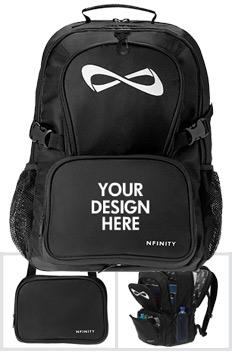 custom nfinity backpacks personalized nfinity cheer bags