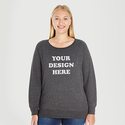 a8fb146ee93 Custom Plus Size Sweatshirts Curvy