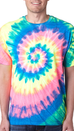 Custom Tie Dye Shirts, Personalized Tie Dyed T-Shirts