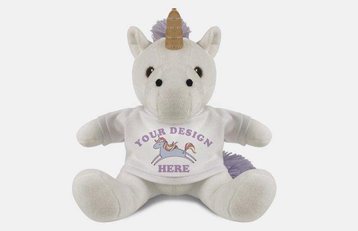 Custom Stuffed Unicorn