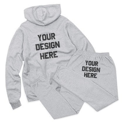Custom Sweatsuit Grey