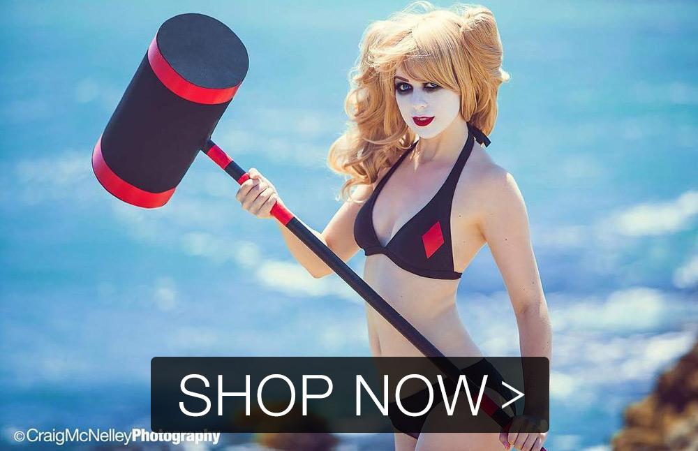 Custom Swimsuit Harley Quinn
