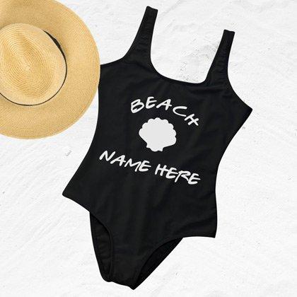 Custom One Piece Swimsuit