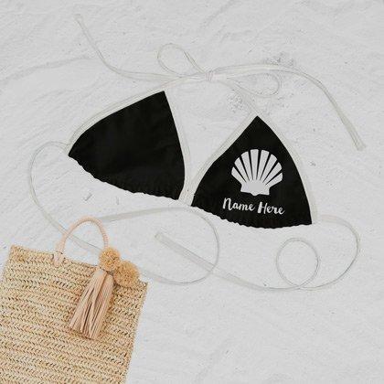 Black Bikini Swimsuit Top