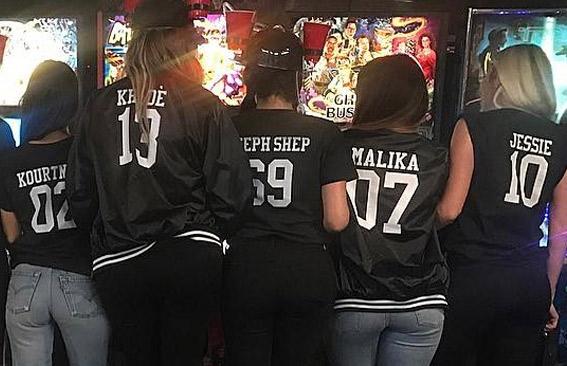 Kardashian Custom Bomber Jackets